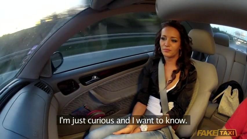 Driver porn fake taxi Female Fake