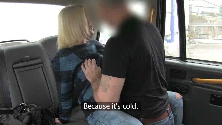 Blonde Wife Blowjob Car