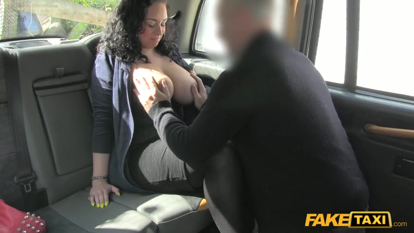 Female Fake Taxi Alessa Savage